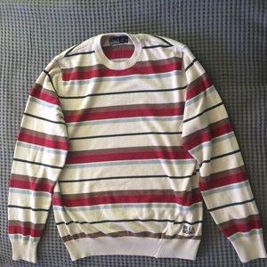 Striped Sweater-Shirt